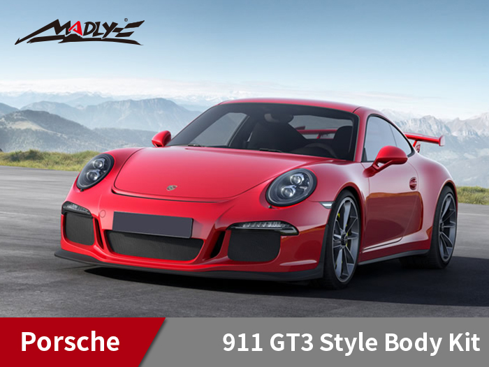 2012-2015 Porsche 911 Carrera 991 GT3 Look Body Kit