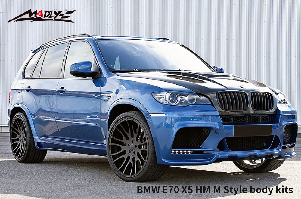 2008-2013 BMW X5/X5M HM Style Body Kits With Double Two Hole