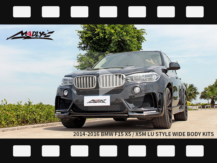 2014-2016 BMW F15 X5 / X5M LU style wide body kits