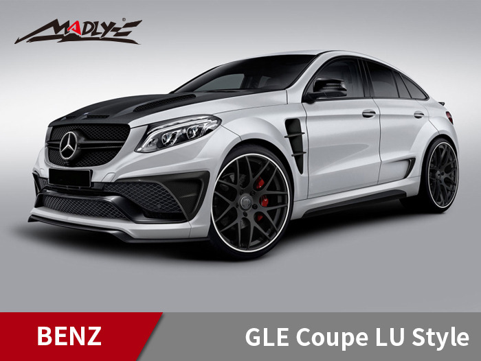 2016-2018 Mercedes Benz GLE Coupe LU Style Wide Body Kits