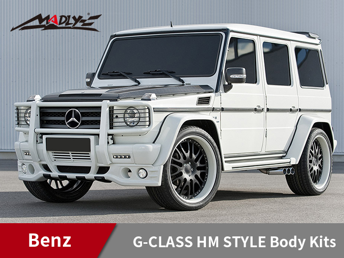 2010-2013 Mercedes Benz G-Class G55 HM Style Body Kits